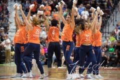 WNBA - Connecticut Sun 92 vs. New York Liberty 77 (78)