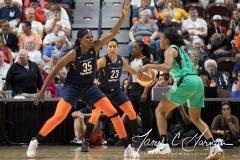 WNBA - Connecticut Sun 92 vs. New York Liberty 77 (81)