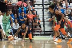 WNBA - Connecticut Sun 92 vs. New York Liberty 77 (82)