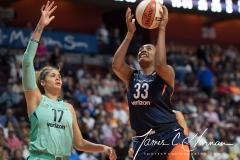 WNBA - Connecticut Sun 92 vs. New York Liberty 77 (86)
