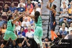 WNBA - Connecticut Sun 92 vs. New York Liberty 77 (9)