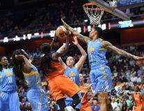 WNBA Connecticut Sun 93 vs. Chicago Sky 72 (41)