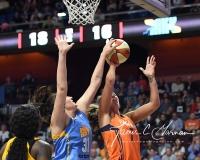 WNBA Connecticut Sun 93 vs. Chicago Sky 72 (42)