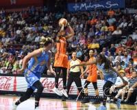 WNBA Connecticut Sun 93 vs. Chicago Sky 72 (49)