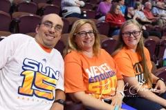 WNBA Connecticut Sun 93 vs. Chicago Sky 72 (9)