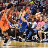 WNBA Connecticut Sun 93 vs. Dallas Wings 87 (100)
