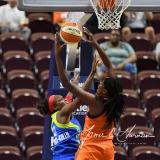 WNBA Connecticut Sun 93 vs. Dallas Wings 87 (11)