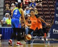 WNBA Connecticut Sun 93 vs. Dallas Wings 87 (17)