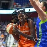 WNBA Connecticut Sun 93 vs. Dallas Wings 87 (22)