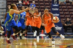 WNBA Connecticut Sun 93 vs. Dallas Wings 87 (25)