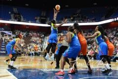 WNBA Connecticut Sun 93 vs. Dallas Wings 87 (30)
