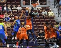WNBA Connecticut Sun 93 vs. Dallas Wings 87 (32)