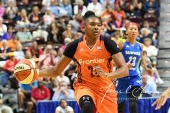 WNBA Connecticut Sun 93 vs. Dallas Wings 87 (33)