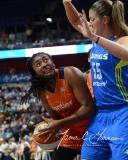 WNBA Connecticut Sun 93 vs. Dallas Wings 87 (40)