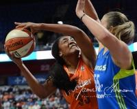 WNBA Connecticut Sun 93 vs. Dallas Wings 87 (41)