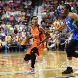 WNBA Connecticut Sun 93 vs. Dallas Wings 87 (45)