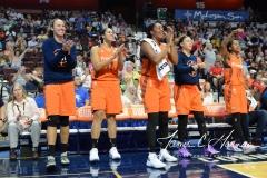 WNBA Connecticut Sun 93 vs. Dallas Wings 87 (56)