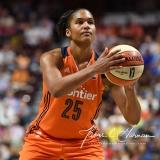 WNBA Connecticut Sun 93 vs. Dallas Wings 87 (57)