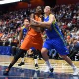 WNBA Connecticut Sun 93 vs. Dallas Wings 87 (58)