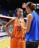 WNBA Connecticut Sun 93 vs. Dallas Wings 87 (61)