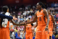 WNBA Connecticut Sun 93 vs. Dallas Wings 87 (62)