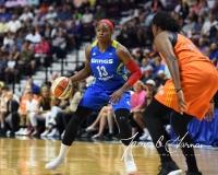 WNBA Connecticut Sun 93 vs. Dallas Wings 87 (77)