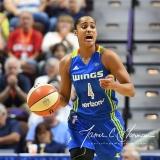 WNBA Connecticut Sun 93 vs. Dallas Wings 87 (78)