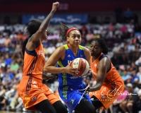 WNBA Connecticut Sun 93 vs. Dallas Wings 87 (79)