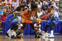 WNBA Connecticut Sun 93 vs. Dallas Wings 87 (8)