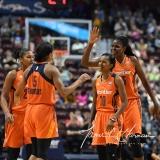 WNBA Connecticut Sun 93 vs. Dallas Wings 87 (80)