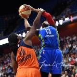 WNBA Connecticut Sun 93 vs. Dallas Wings 87 (85)