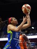 WNBA Connecticut Sun 93 vs. Dallas Wings 87 (88)