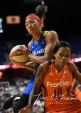 WNBA Connecticut Sun 93 vs. Dallas Wings 87 (89)