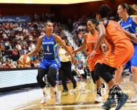 WNBA Connecticut Sun 93 vs. Dallas Wings 87 (90)