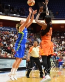 WNBA Connecticut Sun 93 vs. Dallas Wings 87 (91)