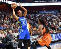 WNBA Connecticut Sun 93 vs. Dallas Wings 87 (92)