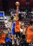 WNBA Connecticut Sun 93 vs. Dallas Wings 87 (93)