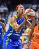 WNBA Connecticut Sun 93 vs. Dallas Wings 87 (98)