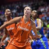 WNBA Connecticut Sun 93 vs. Dallas Wings 87 (99)
