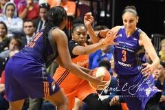WNBA Connecticut Sun 93 vs. Phoenix Mercury 92 (101)