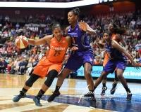 WNBA Connecticut Sun 93 vs. Phoenix Mercury 92 (103)