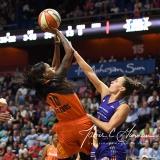 WNBA Connecticut Sun 93 vs. Phoenix Mercury 92 (105)