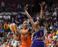 WNBA Connecticut Sun 93 vs. Phoenix Mercury 92 (106)