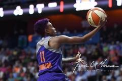 WNBA Connecticut Sun 93 vs. Phoenix Mercury 92 (21)