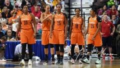 WNBA Connecticut Sun 93 vs. Phoenix Mercury 92 (34)