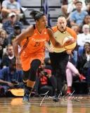 WNBA Connecticut Sun 93 vs. Phoenix Mercury 92 (76)