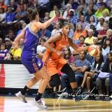 WNBA Connecticut Sun 93 vs. Phoenix Mercury 92 (80)