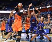 WNBA Connecticut Sun 93 vs. Phoenix Mercury 92 (89)