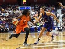 WNBA Connecticut Sun 93 vs. Phoenix Mercury 92 (92)
