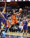 WNBA Connecticut Sun 93 vs. Phoenix Mercury 92 (94)